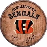 "Cincinnati Bengals Established Date 24"" Barrel Top"
