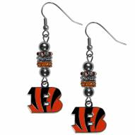 Cincinnati Bengals Euro Bead Earrings