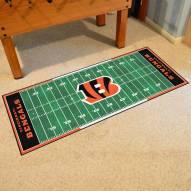 Cincinnati Bengals Football Field Runner Rug
