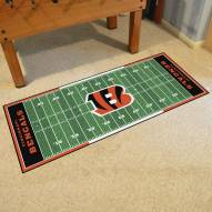 Cincinnati Bengals Football Field Runner Rug