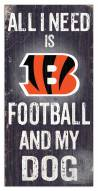 Cincinnati Bengals Football & My Dog Sign