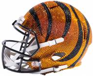 Cincinnati Bengals Full Size Swarovski Crystal Football Helmet