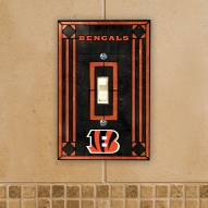 Cincinnati Bengals Glass Single Light Switch Plate Cover