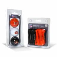 Cincinnati Bengals Golf Ball & Tee Pack