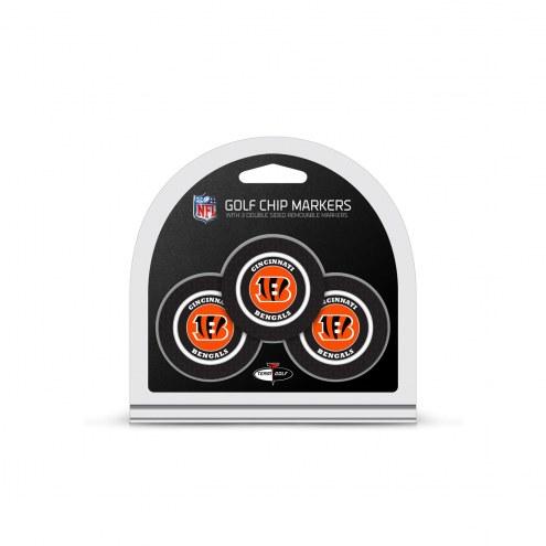 Cincinnati Bengals Golf Chip Ball Markers