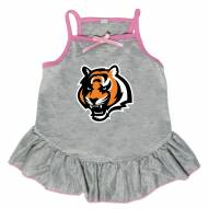 Cincinnati Bengals Gray Dog Dress