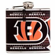 Cincinnati Bengals Hi-Def Stainless Steel Flask
