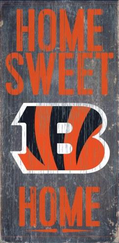 Cincinnati Bengals Home Sweet Home Wood Sign