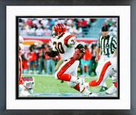 Cincinnati Bengals Ickey Woods Super Bowl XXIII Action Framed Photo