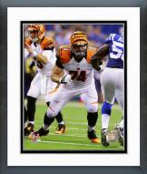 Cincinnati Bengals Jake Fisher Action Framed Photo