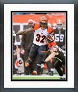 Cincinnati Bengals Jeremy Hill Action Framed Photo