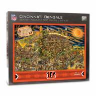 Cincinnati Bengals Joe Journeyman Puzzle