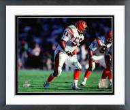 Cincinnati Bengals Kevin Walker Action Framed Photo