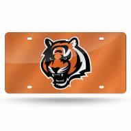 Cincinnati Bengals Laser Cut License Plate
