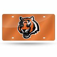 Cincinnati Bengals Laser Cut License Plate