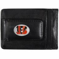 Cincinnati Bengals Leather Cash & Cardholder