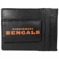 Cincinnati Bengals Logo Leather Cash and Cardholder