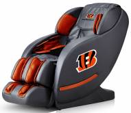 Cincinnati Bengals Luxury Zero Gravity Massage Chair