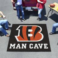 Cincinnati Bengals Man Cave Tailgate Mat
