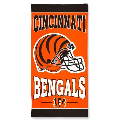 Cincinnati Bengals McArthur NFL Beach Towel