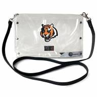 Cincinnati Bengals Clear Envelope Purse