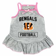 Cincinnati Bengals NFL Gray Dog Dress