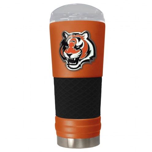 Cincinnati Bengals Orange 24 oz. Powder Coated Draft Tumbler