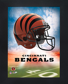 Cincinnati Bengals Framed 3D Wall Art