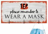Cincinnati Bengals Please Wear Your Mask Sign