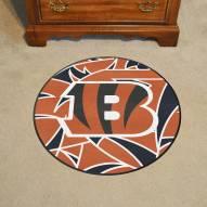 Cincinnati Bengals Quicksnap Rounded Mat
