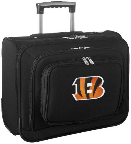 Cincinnati Bengals Rolling Laptop Overnighter Bag