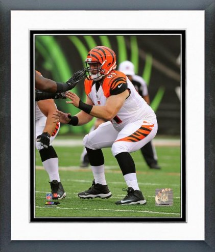 Cincinnati Bengals Russell Bodine 2014 Action Framed Photo