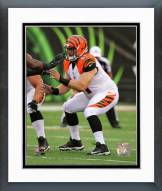 Cincinnati Bengals Russell Bodine Action Framed Photo