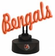 Cincinnati Bengals Script Neon Desk Lamp