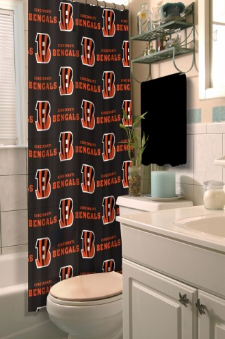 Cincinnati Bengals Shower Curtain
