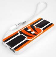 Cincinnati Bengals Slim Power Bank Portable Charger