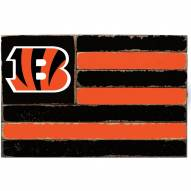 Cincinnati Bengals Small Flag Wall Art