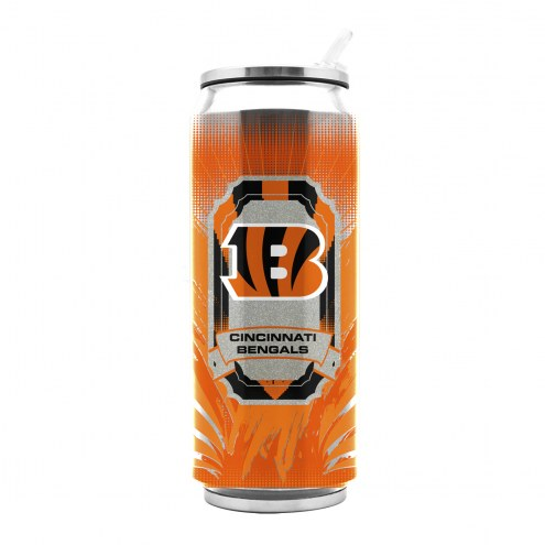 Cincinnati Bengals Stainless Steel Thermo Can