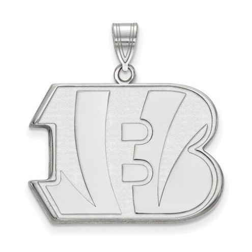 Cincinnati Bengals Sterling Silver Extra Large Pendant