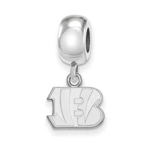 Cincinnati Bengals Sterling Silver Extra Small Dangle Bead Charm