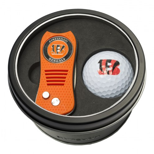 Cincinnati Bengals Switchfix Golf Divot Tool & Ball