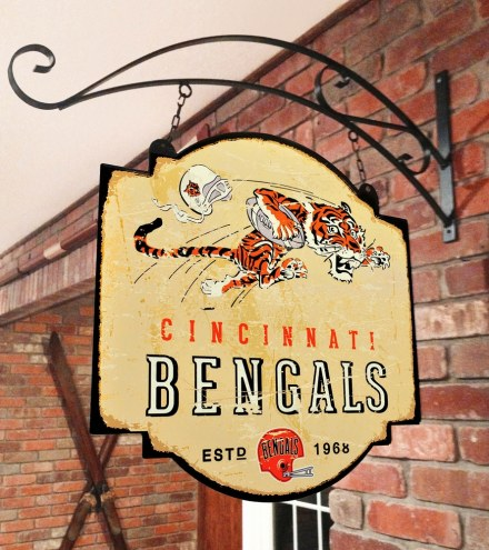 Cincinnati Bengals Tavern Sign