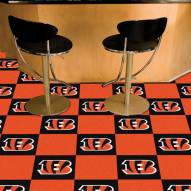 Cincinnati Bengals Team Carpet Tiles