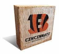 Cincinnati Bengals Team Logo Block