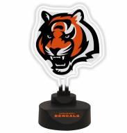 Cincinnati Bengals Team Logo Neon Light