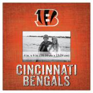 "Cincinnati Bengals Team Name 10"" x 10"" Picture Frame"