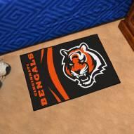 Cincinnati Bengals Uniform Inspired Starter Rug