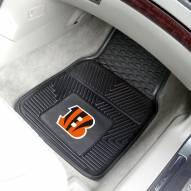 Cincinnati Bengals Vinyl 2-Piece Car Floor Mats