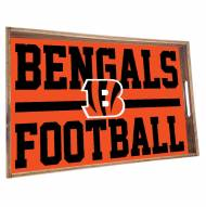 Cincinnati Bengals Wooden Serving Tray