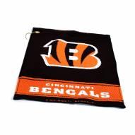 Cincinnati Bengals Woven Golf Towel